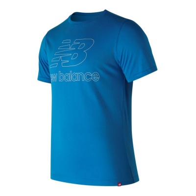 NEW BALANCE Essentials Landing Tee Blue