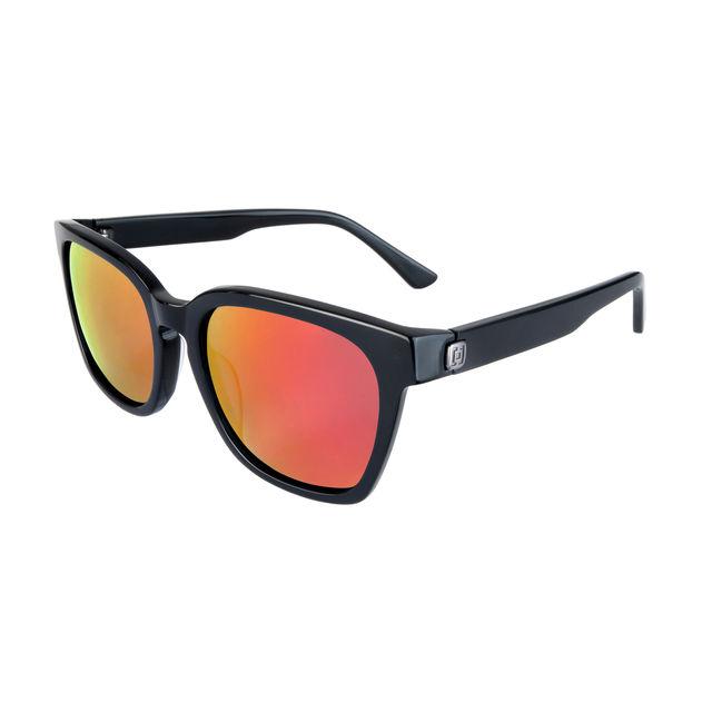 b14ddc257 Slnečné okuliare HORSEFEATHERS Chester matt blackmirror red Čierno-červená