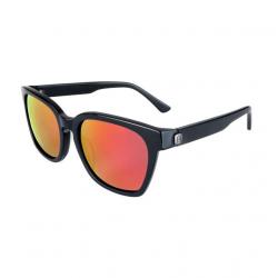 Slnečné okuliare HORSEFEATHERS Chester matt black/mirror red