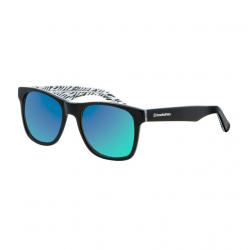 Slnečné okuliare HORSEFEATHERS Foster zebra/mirror green