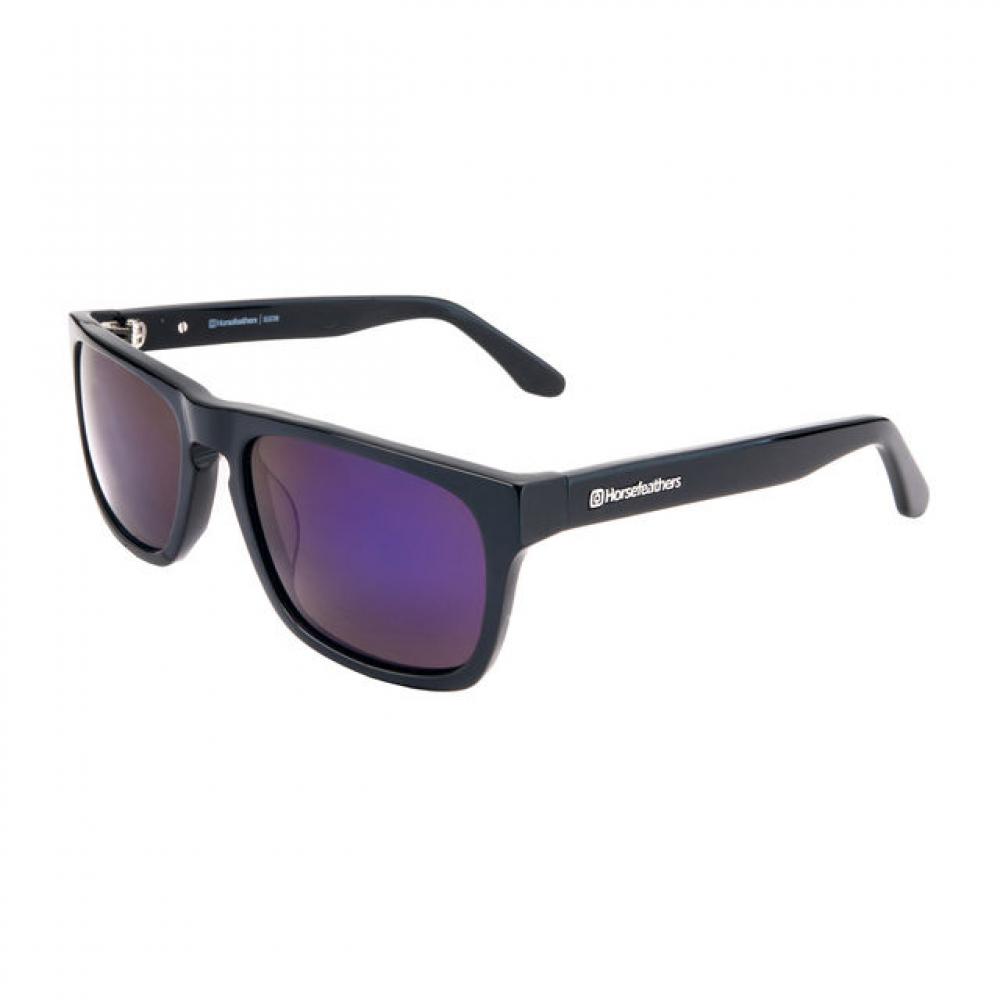 Slnečné okuliare HORSEFEATHERS Keaton gloss black mirror blue 34868222d8b