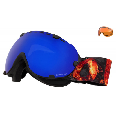 Lyžařské brýle OUT OF Eyes Hell Blue MCI