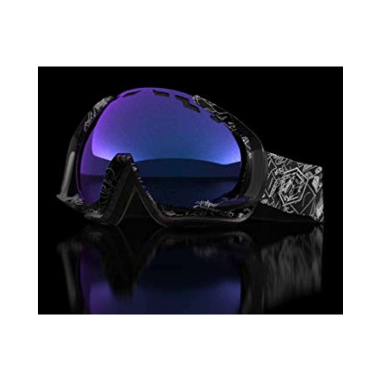 Fotochromatické lyžiarske okuliare OUT OF Edge Night Session The One Gelo Čierno-modrá Normálna veľkosť