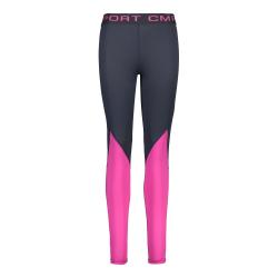 Športové nohavice CAMPAGNOLO Long Pant Grey/Pink