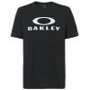Tričko OAKLEY 50 Bark Ellipse Blackout