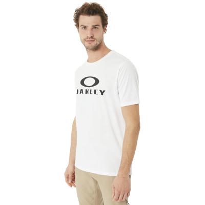 Tričko OAKLEY 50 Bark Ellipse White
