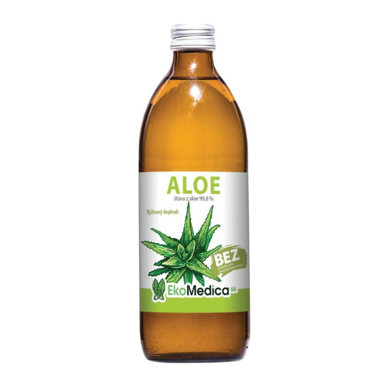 EkoMedica Aloe 99,8% šťava 500 ml 500 ml