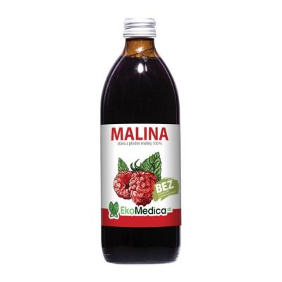 EkoMedica MALINA 100% šťava 500ml