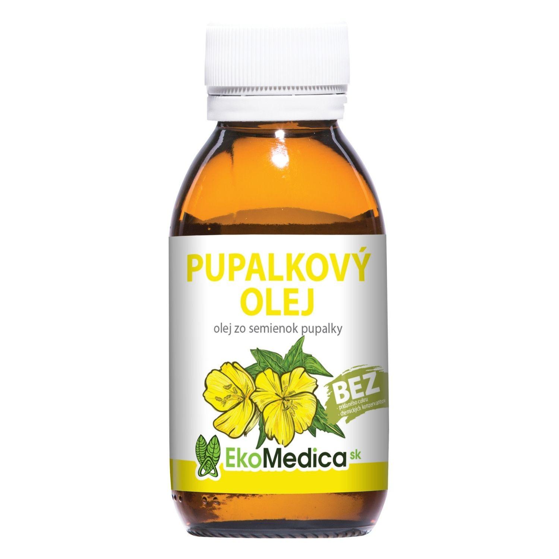EkoMedica 100% Pupalkový olej 100 ml
