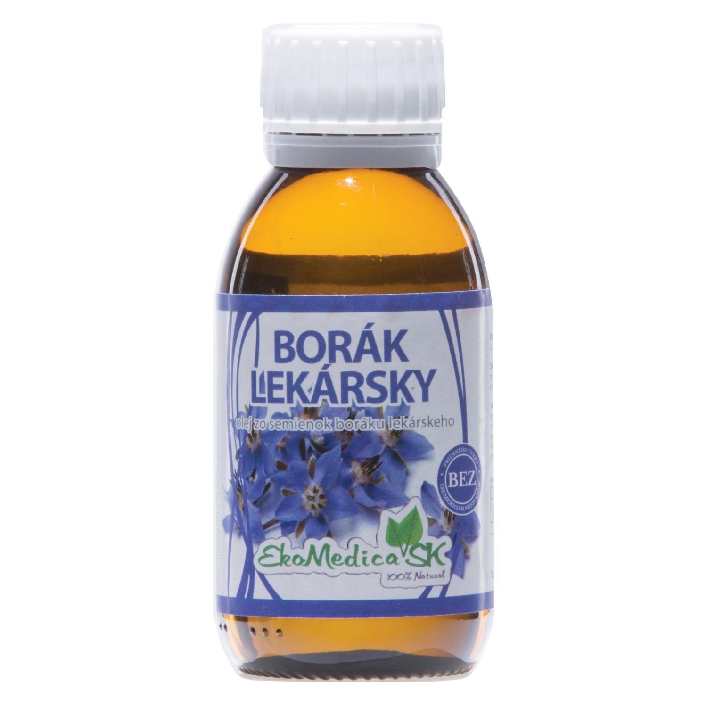 EkoMedica 100% Borákový olej 100 ml