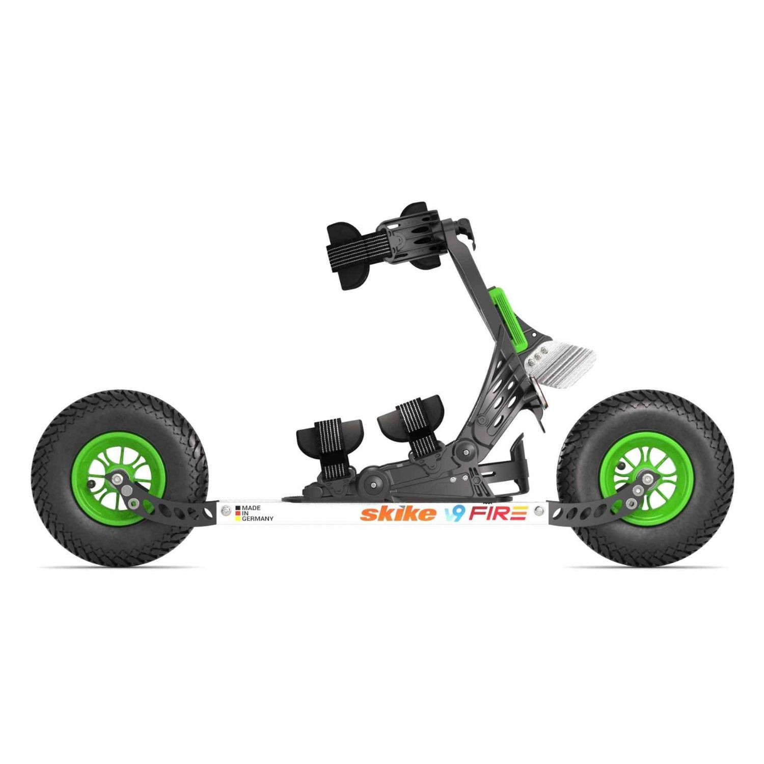 SKIKE v9 Fire 200 BlackGreen Čierno-zelená