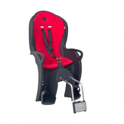 Detská sedačka zadná HAMAX Kiss Black / Red