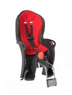 Detská sedačka zadná HAMAX Sleepy Black / Red