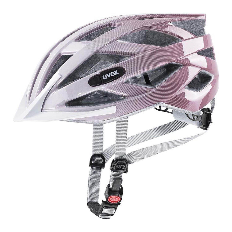 Cyklistická prilba UVEX Air Wing Pink/White Ružová 56-60 cm