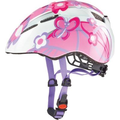 Detská cyklistická prilba UVEX Kid 2 JR White / Pink