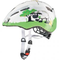 Detská cyklistická prilba UVEX Kid 2 JR White / Green