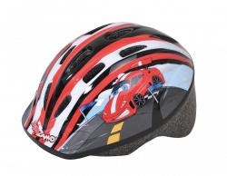 Detská cyklistická prilba KIDZAMO KZ 008 Black / Red