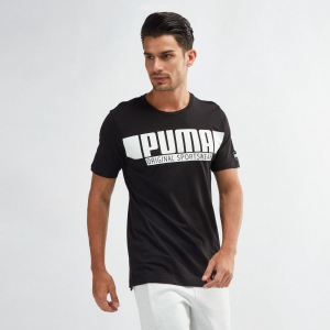 Tričko PUMA Style Athletics Black