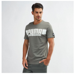 Tričko PUMA Style Athletics Grey