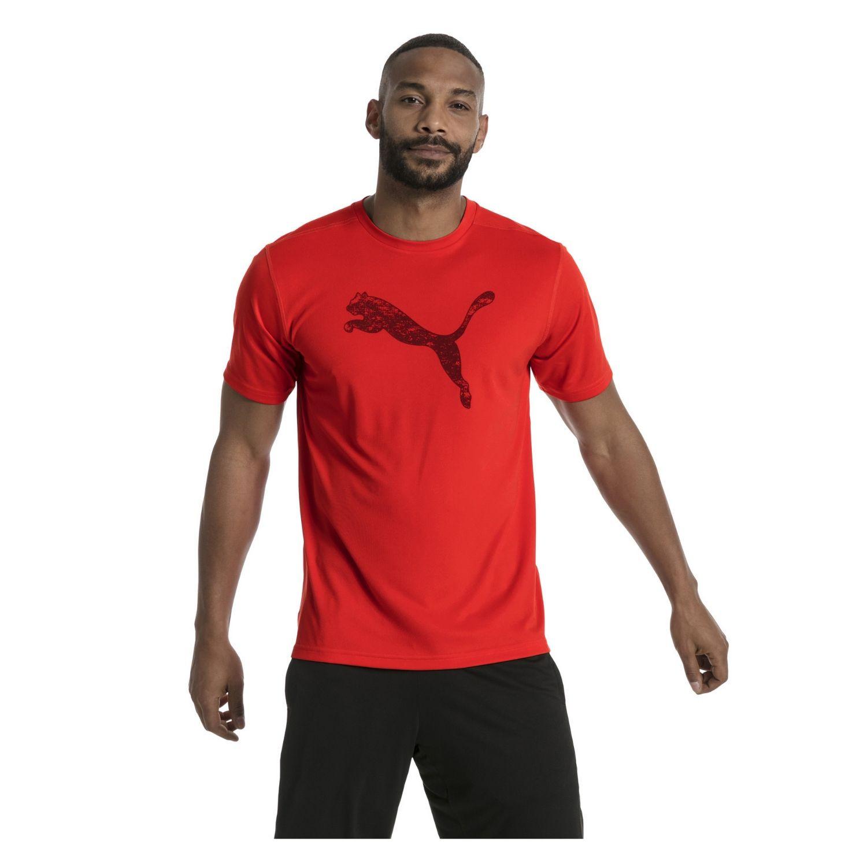 Tričko PUMA Essential Cat Tee Red Červená M