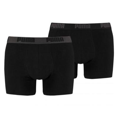 Boxerky PUMA Boxer 2-pack Black