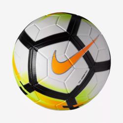 Futbalová lopta NIKE Strk White / Orange
