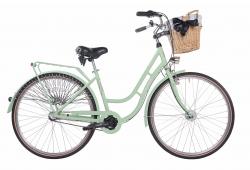 Mestský dámsky retro bicykel COSSACK Classic City 28/3B 2018 mätový matný