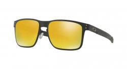 Slnečné okuliare OAKLEY Holbrook Metal Matte Black w/ 24K Iridium