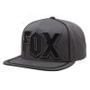 FOX Faction Snapback Grey