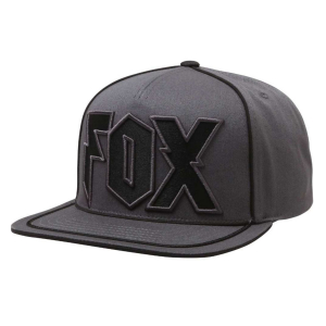 Šiltovka FOX Faction Snapback Charcoal
