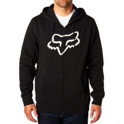 Mikina FOX Legacy Foxhead Zip Fleece Black