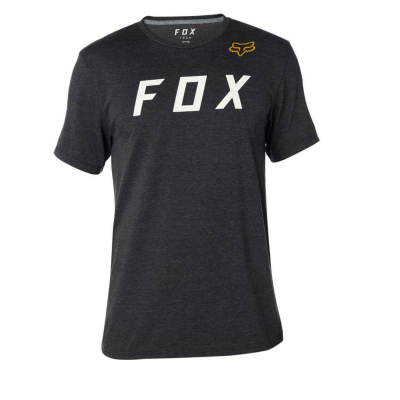 FOX Grizzled SS Tech Tee Black