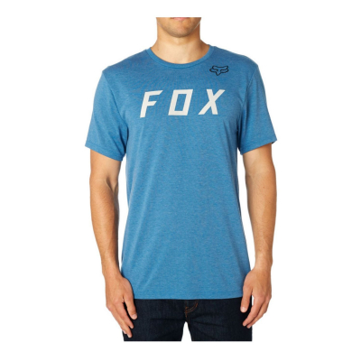 FOX Grizzled SS Tech Tee Blue