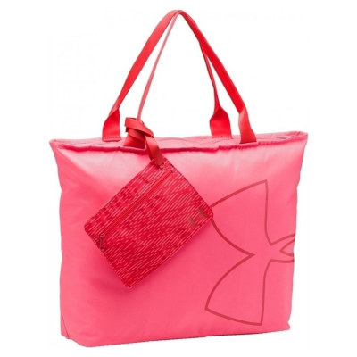 Taška UNDER ARMOUR Big Logo Tote Pink