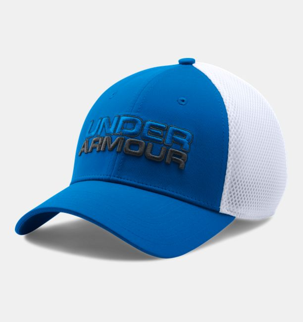 Šiltovka UNDER ARMOUR Sportstyle Mesh Cap White / Blue Bielo-modrá L/XL