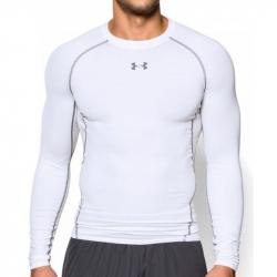 Kompresné tričko UNDER ARMOUR HG ARMOUR LS White