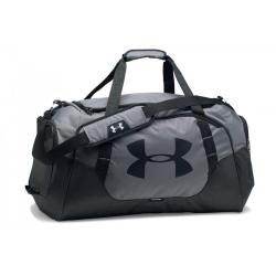 Športová taška UNDER ARMOUR Undeniable Duffle 3.0 MD Grey / Black