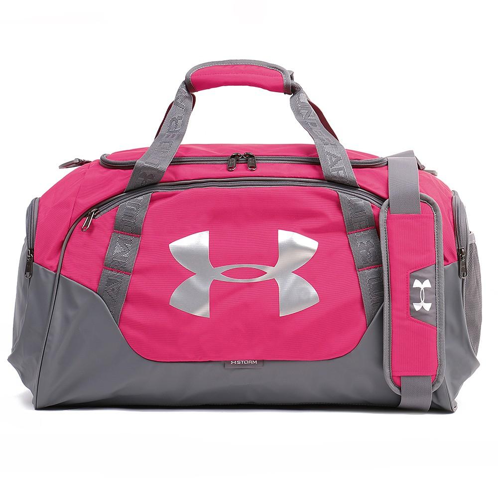 898acc04cf Športová taška UNDER ARMOUR Undeniable Duffle 3.0 MD Grey   Pink