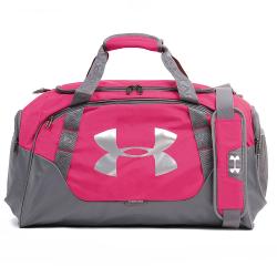 Športová taška UNDER ARMOUR Undeniable Duffle 3.0 MD Grey / Pink