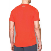 Tričko UNDER ARMOUR Threadborne Streaker SS Orange