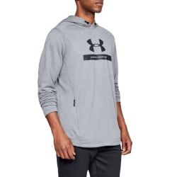 Mikina UNDER ARMOUR MK1 Terry Graphic Grey