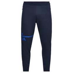 Pánske tepláky UNDER ARMOUR Tech Terry Tapered Pant Blue