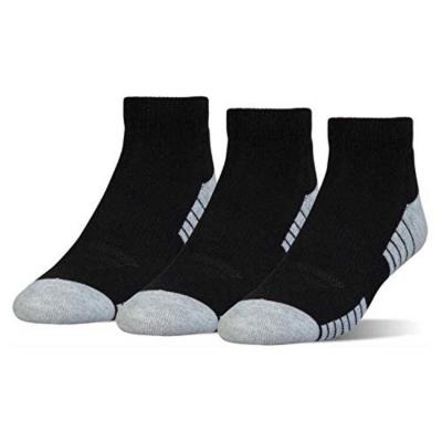 Ponožky UNDER ARMOUR HeatGear LO CUT Black / Grey