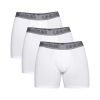 "Boxerky UNDER ARMOUR Charged Cotton Stretch 6"" Boxerjock 3-Pack White"