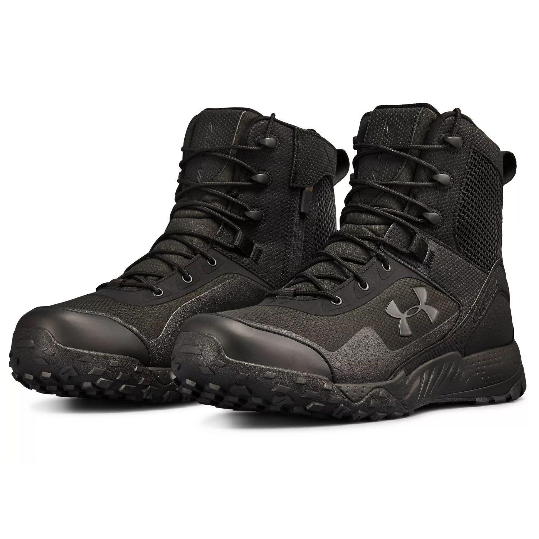 Pánska obuv UNDER ARMOUR Valsetz RTS 1.5 Side Zip Black Čierna 42.5