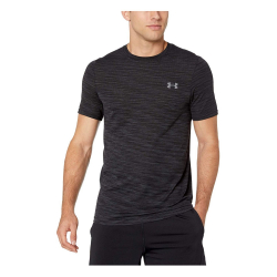 Tričko UNDER ARMOUR Siphon SS Fade Nov Black