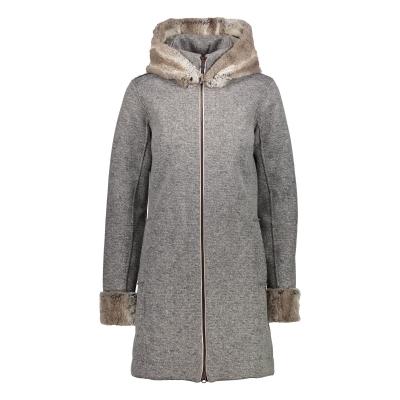 Kabát CAMPAGNOLO Woman Jacket Fix Hood Grey - 18/19