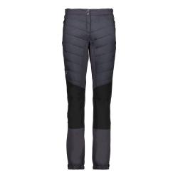 1ebf04f31 Dámske nohavice CAMPAGNOLO Woman Long Pant Black / Grey - 18/19