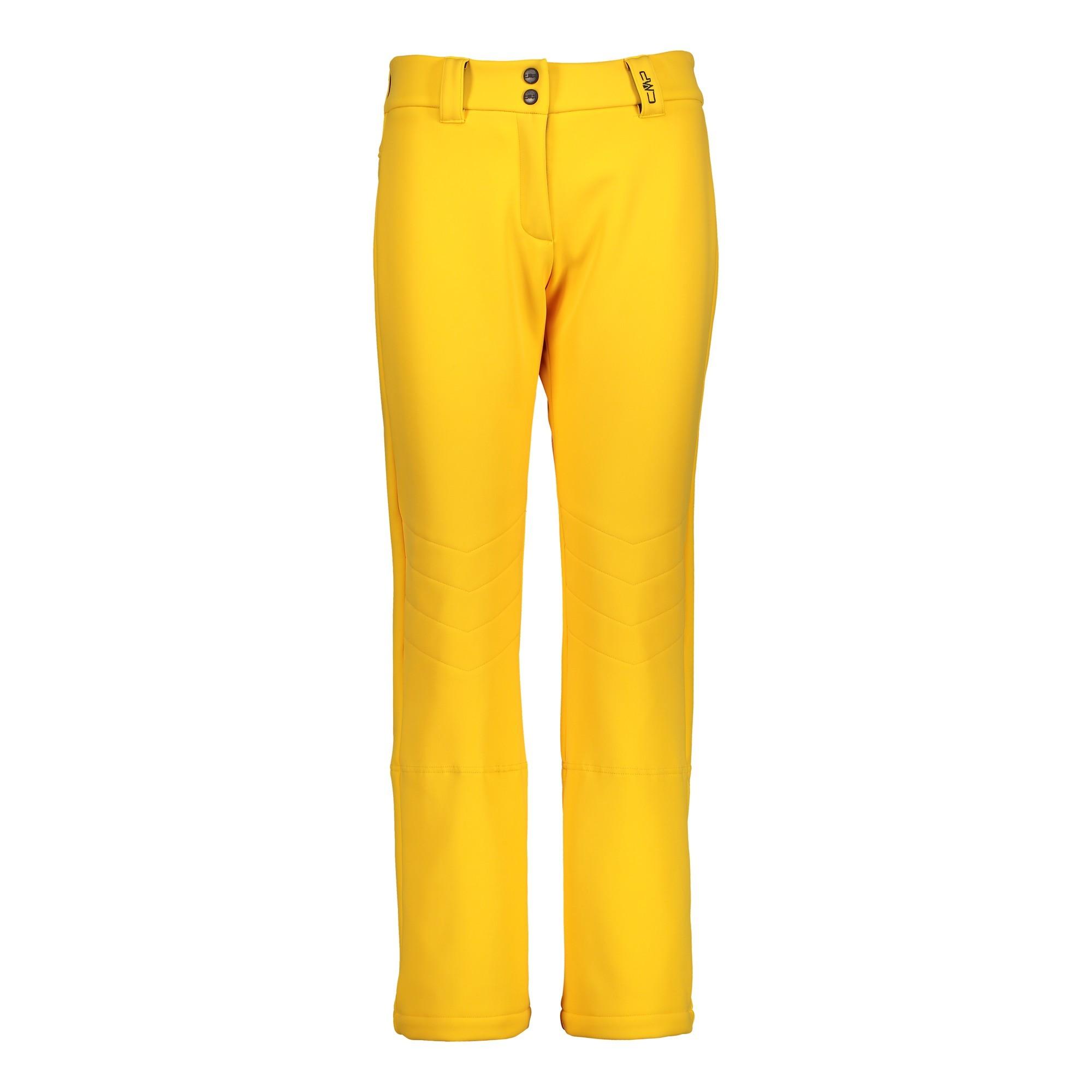 Lyžiarske nohavice CAMPAGNOLO Woman Long Pant Yellow Žltá S
