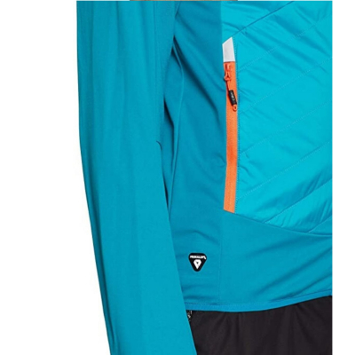 Bunda CAMPAGNOLO Man Jacket Hybrid Blue / Orange
